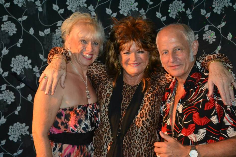 Patti as Tina with Jukebox Legends during a Jukebox Promotions tour
