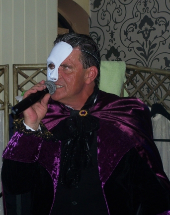 Andy Jones as The Phantom