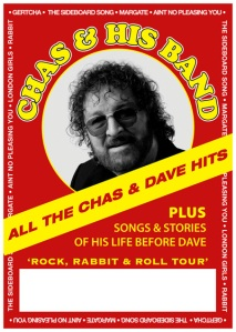 Chas Poster (please note that this tour will not include the band)