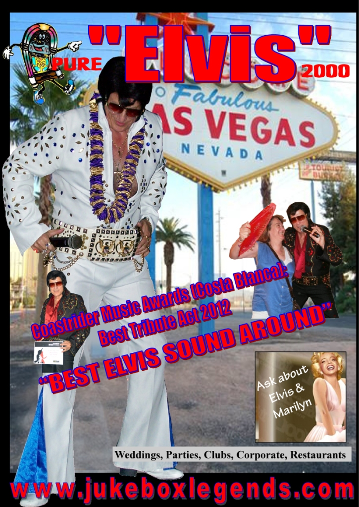 Elvis & Marilyn - new poster 16th October.pub