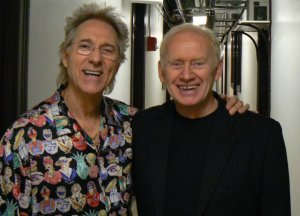 Gary Pucket (Union Gap fame) with Tony Lee after a show