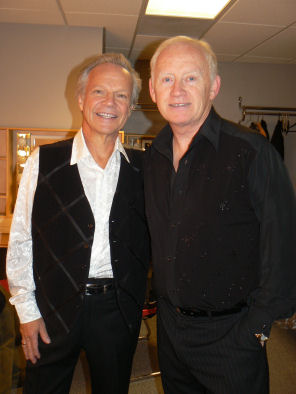 Tony Lee with International 60s legend Bobby Vee