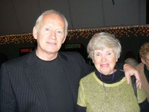 Tony Lee with Nancy Pitney during a recent US tour