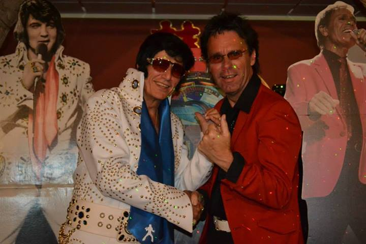 Elvis 2000 and Cliff-AsIf the stars of Cliff & Elvis show