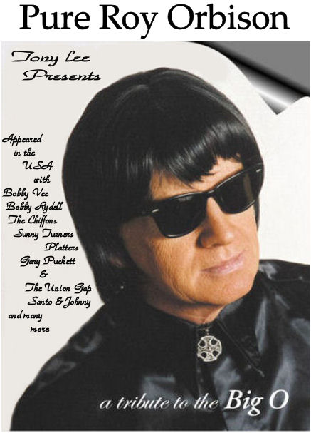 Pure Roy Orbison - Tony Lee