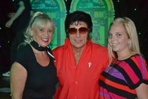 Elvis 2000 with Fiona McLean-Day